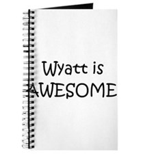 Cute Wyatt Journal