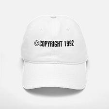 cCopyright 1992 Baseball Baseball Cap