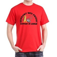Support Red Friday (Airman) T-Shirt