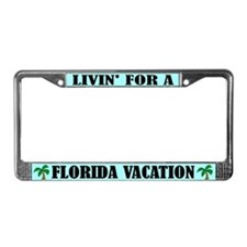 Florida Vacation License Plate Frame