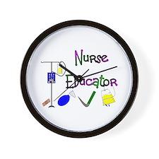 Nurse Educator Wall Clock