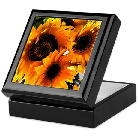 Sunflower Dream Keepsake Box