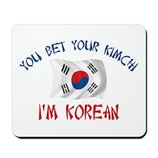Korean Kimchi Mousepad