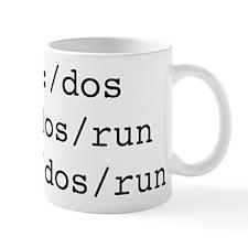 C Dos Run Small Mug
