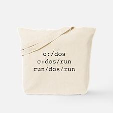 C Dos Run Tote Bag