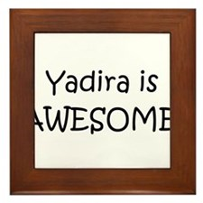 Yadira Framed Tile