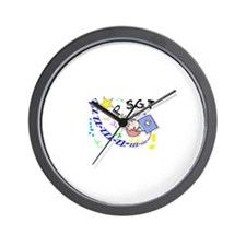 Sleep Study Wall Clock