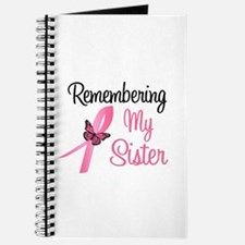 Remembering My Sister (BC) Journal