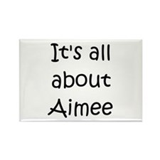 Funny Aimee Rectangle Magnet