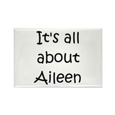 Cool Aileen Rectangle Magnet