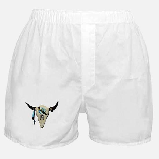 Steer Skull Boxer Shorts