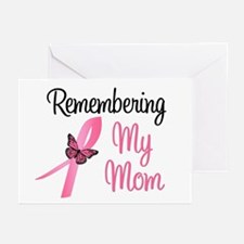 Remembering My Mom (BC) Greeting Cards (Pk of 10)