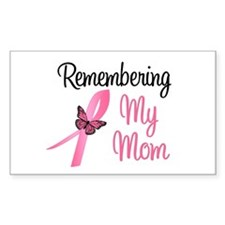 Remembering My Mom (BC) Rectangle Sticker 10 pk)