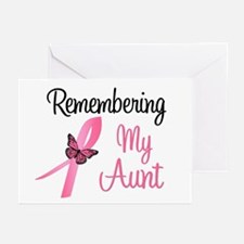 Remembering My Aunt (BC) Greeting Cards (Pk of 10)