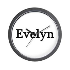 Evelyn - Personalized Wall Clock