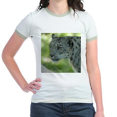 Snow Leopard M004 Jr. Ringer T-Shirt