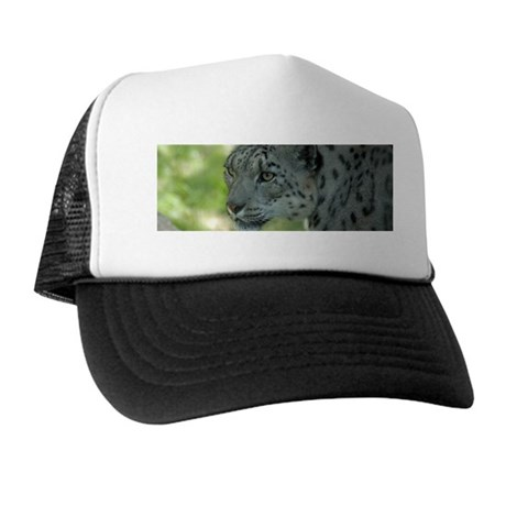 Snow Leopard M004 Trucker Hat