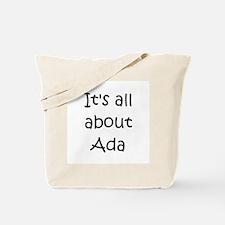 Funny Ada Tote Bag