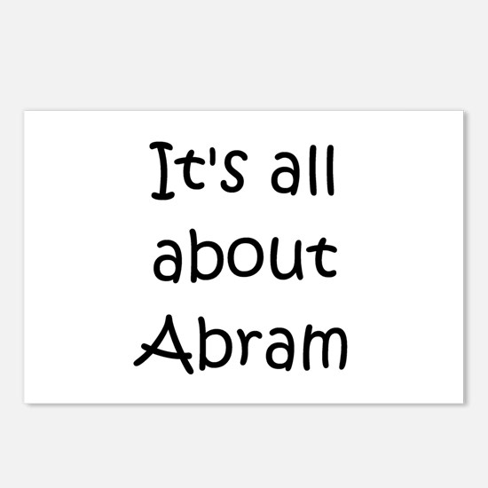 Unique Abram Postcards (Package of 8)