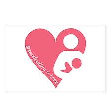Breastfeeding is Love Postcards (Package of 8)