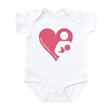 Breastfeeding is Love Infant Bodysuit