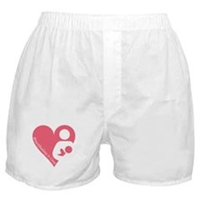 Breastfeeding is Love Boxer Shorts