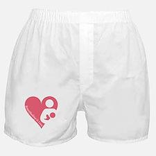 Breastfeeding is Love Boxer Shorts
