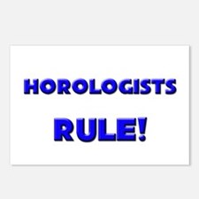 Horologists Rule! Postcards (Package of 8)
