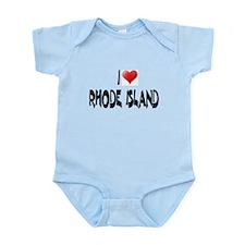 I LOVE RHODE ISLAND Infant Creeper