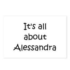 Funny Alessandra Postcards (Package of 8)