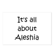 Funny Aleshia Postcards (Package of 8)