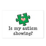 Is My Autsim Showing Postcards (Package of 8)