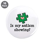 Is My Autsim Showing 3.5