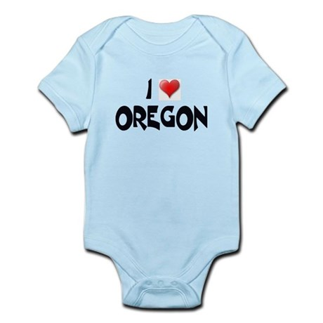 I LOVE OREGON Infant Creeper