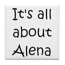 Cool Alena Tile Coaster
