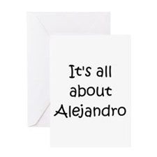 Cool Alejandro Greeting Card