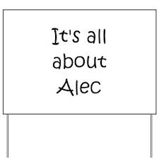 Cool Alec Yard Sign