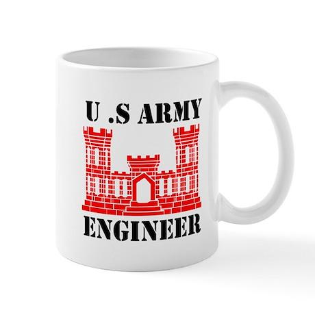 Army Engineer Castle Mug