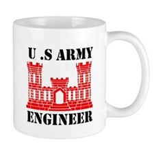 Army Engineer Castle Mug