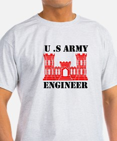 Army Engineer Castle T-Shirt
