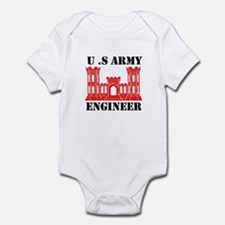 Army Engineer Castle Infant Bodysuit
