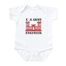 Army Engineer Castle Onesie