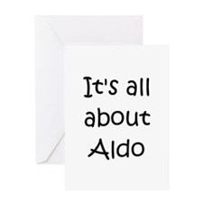 Unique Aldo Greeting Card