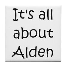 Cool Alden Tile Coaster
