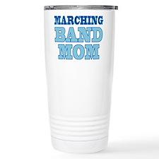 Blue Marching Band Mom Travel Mug
