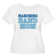 Blue Marching Band Mom T-Shirt