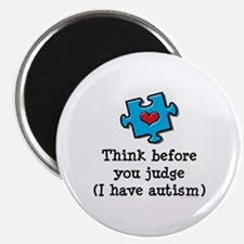 Think Before You Judge Autism Magnet 10 Pk