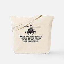 Apache H-64D Tote Bag