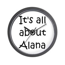 Cool Alana Wall Clock
