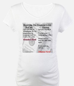 """Financial Crisis"" Shirt"